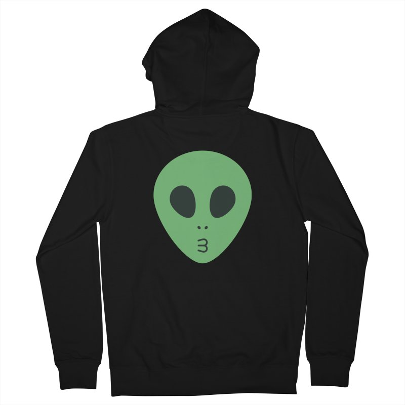 Alien Tumblr Women's French Terry Zip-Up Hoody by abstractocreate's Artist Shop