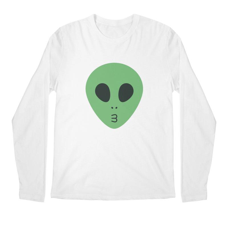 Alien Tumblr Men's Regular Longsleeve T-Shirt by abstractocreate's Artist Shop