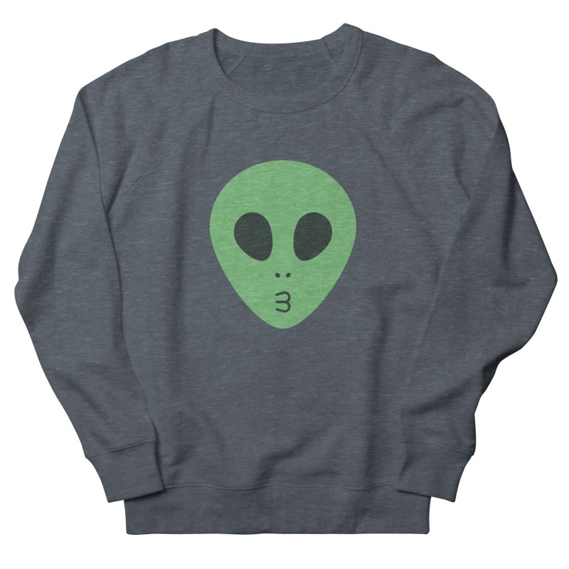 Alien Tumblr Women's French Terry Sweatshirt by abstractocreate's Artist Shop