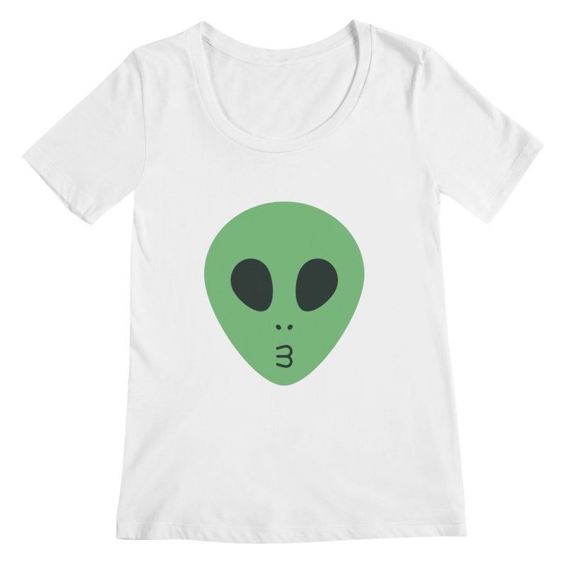 Alien Tumblr Women's Regular Scoop Neck by abstractocreate's Artist Shop