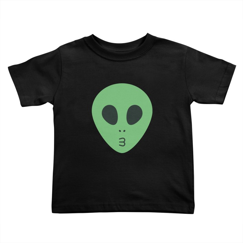 Alien Tumblr Kids Toddler T-Shirt by abstractocreate's Artist Shop