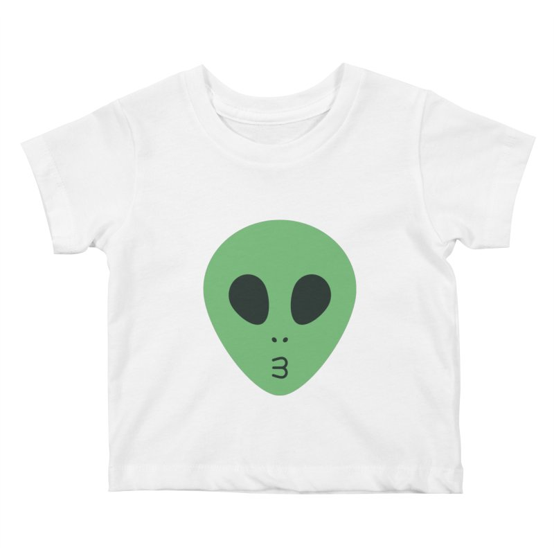 Alien Tumblr Kids Baby T-Shirt by abstractocreate's Artist Shop