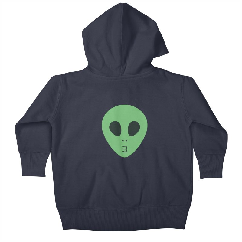 Alien Tumblr Kids Baby Zip-Up Hoody by abstractocreate's Artist Shop