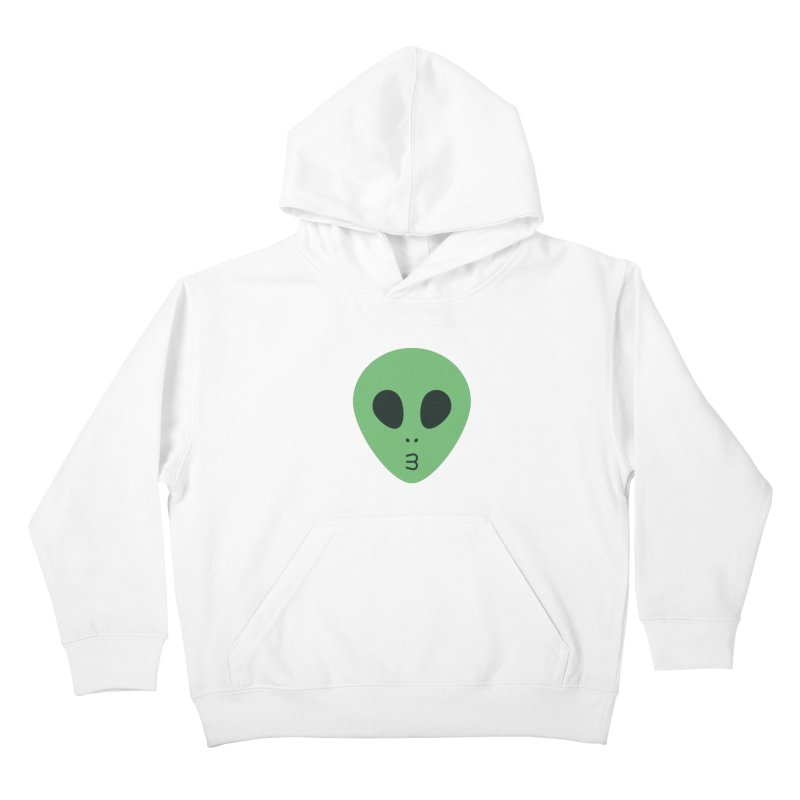 Alien Tumblr Kids Pullover Hoody by abstractocreate's Artist Shop