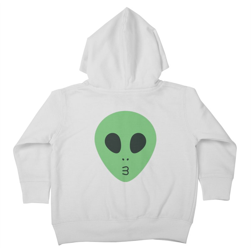 Alien Tumblr Kids Toddler Zip-Up Hoody by abstractocreate's Artist Shop