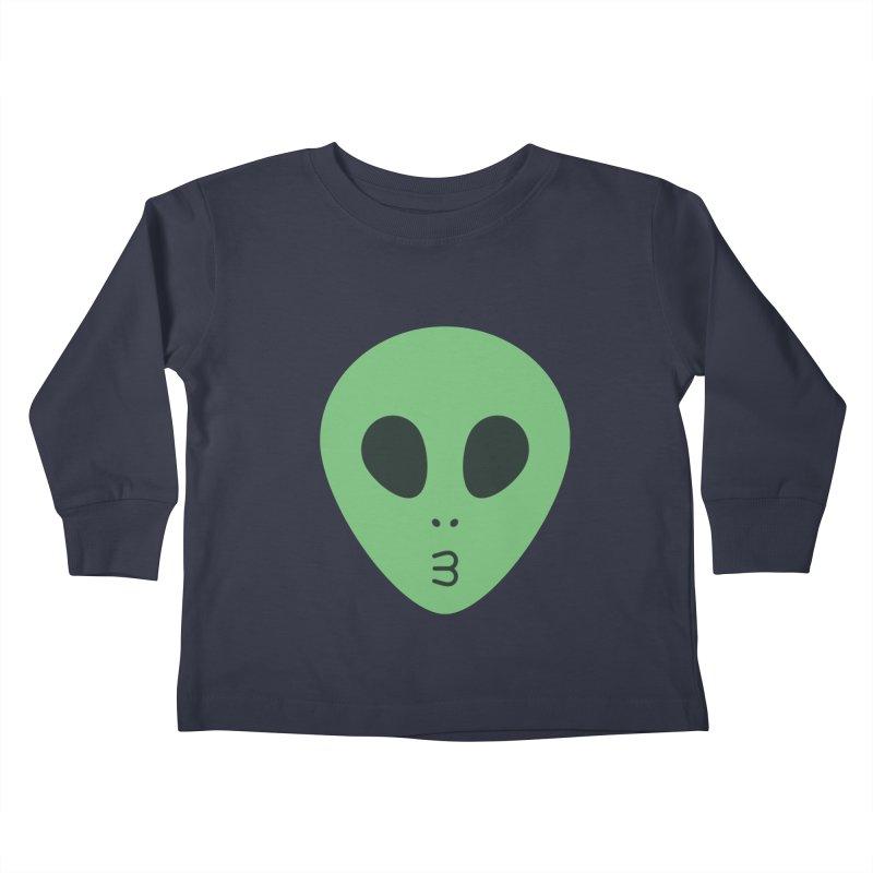 Alien Tumblr Kids Toddler Longsleeve T-Shirt by abstractocreate's Artist Shop