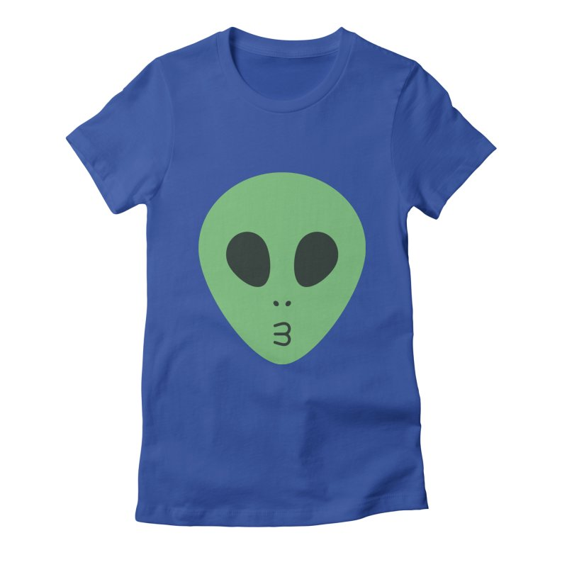 Alien Tumblr Women's Fitted T-Shirt by abstractocreate's Artist Shop