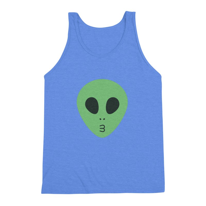 Alien Tumblr Men's Triblend Tank by abstractocreate's Artist Shop