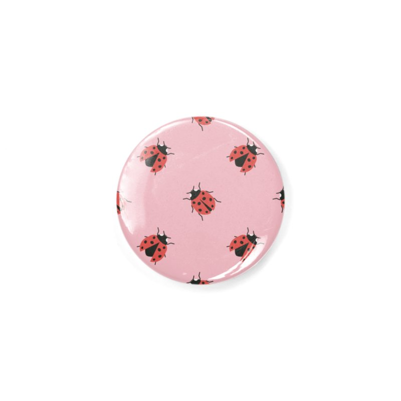Ladybug Pattern Accessories Button by abstractocreate's Artist Shop