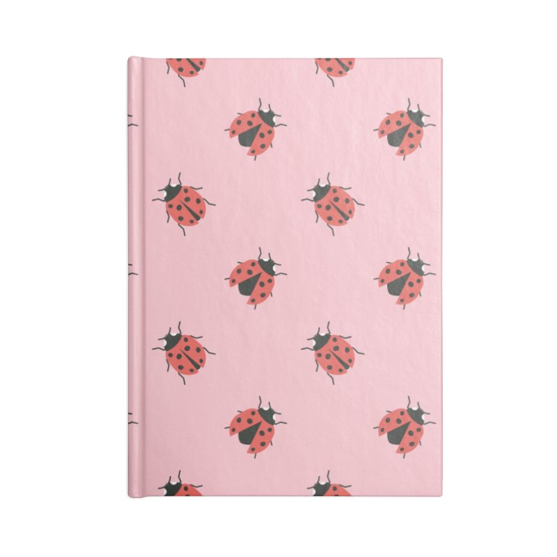 Ladybug Pattern Accessories Lined Journal Notebook by abstractocreate's Artist Shop