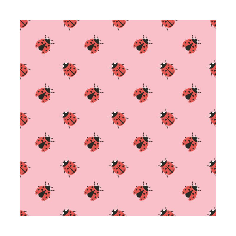 Ladybug Pattern Accessories Beach Towel by abstractocreate's Artist Shop