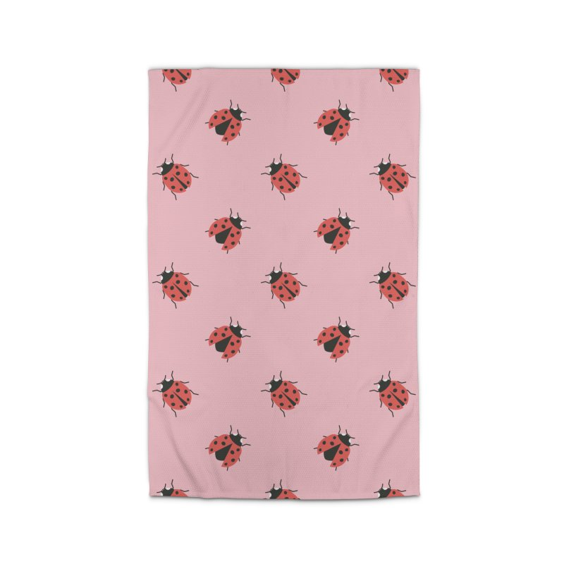 Ladybug Pattern Home Rug by abstractocreate's Artist Shop