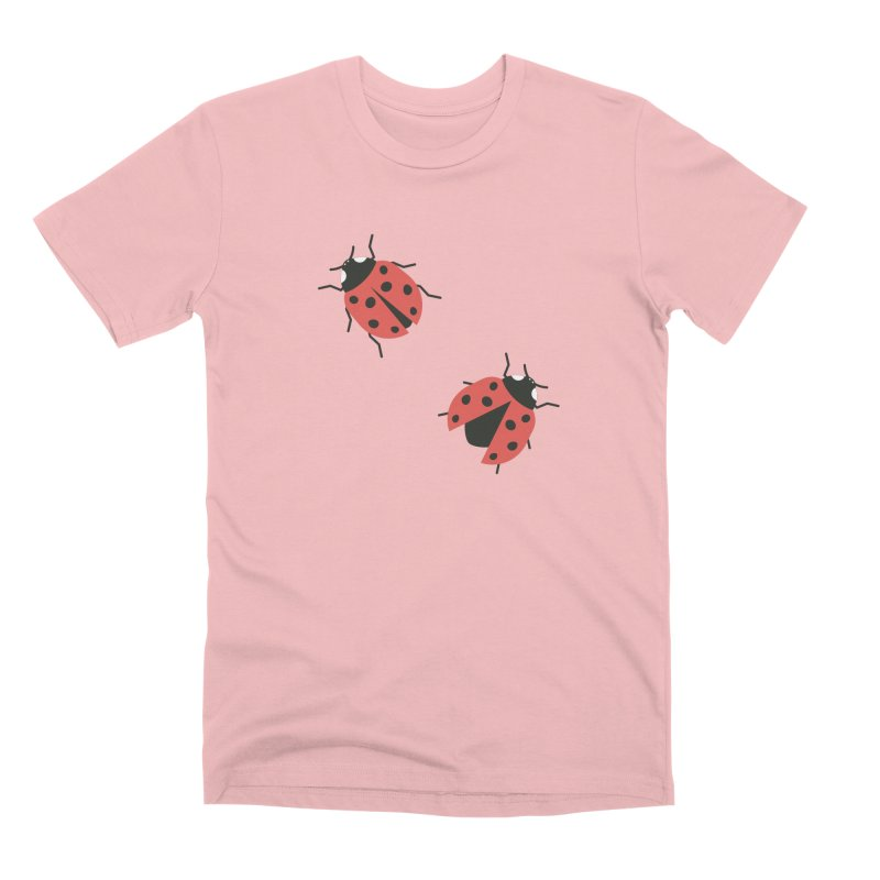 Ladybug Pattern Men's Premium T-Shirt by abstractocreate's Artist Shop