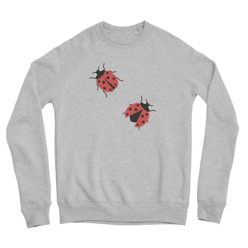 Ladybug Pattern Women's Sponge Fleece Sweatshirt by abstractocreate's Artist Shop