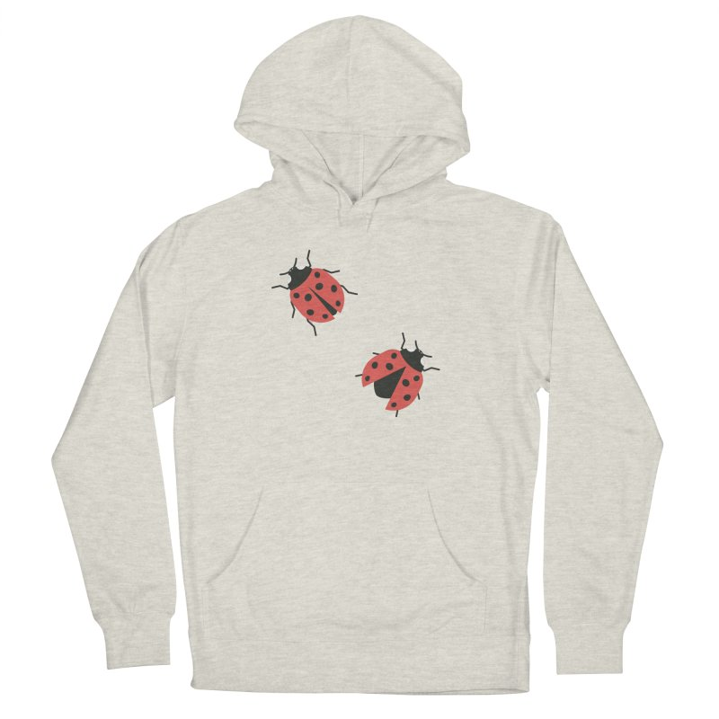 Ladybug Pattern Women's French Terry Pullover Hoody by abstractocreate's Artist Shop