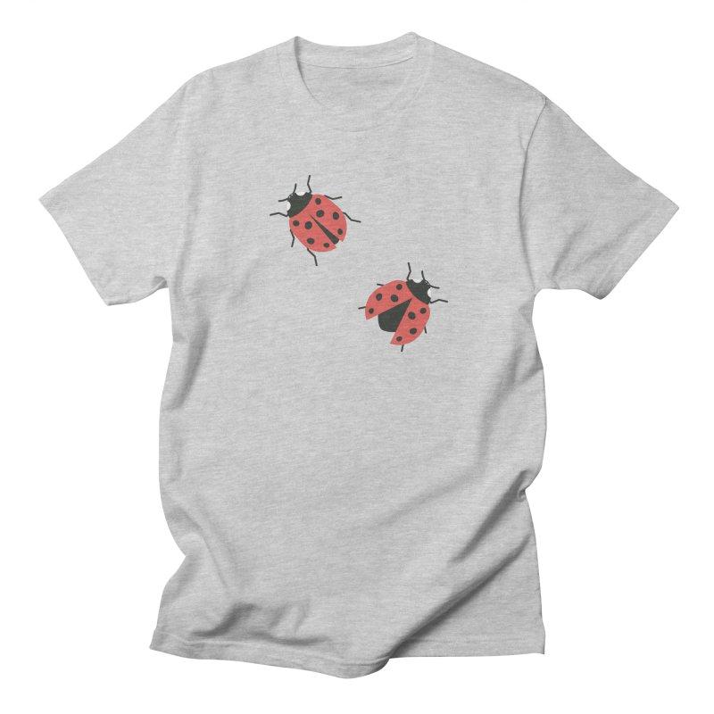 Ladybug Pattern Women's Regular Unisex T-Shirt by abstractocreate's Artist Shop