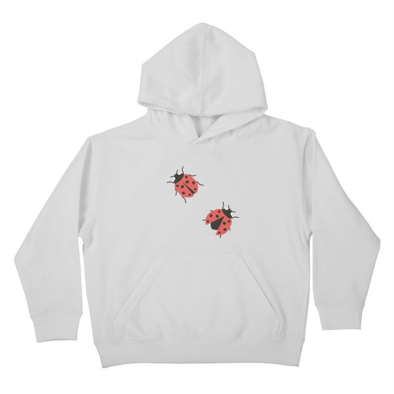 Ladybug Pattern Kids Pullover Hoody by abstractocreate's Artist Shop