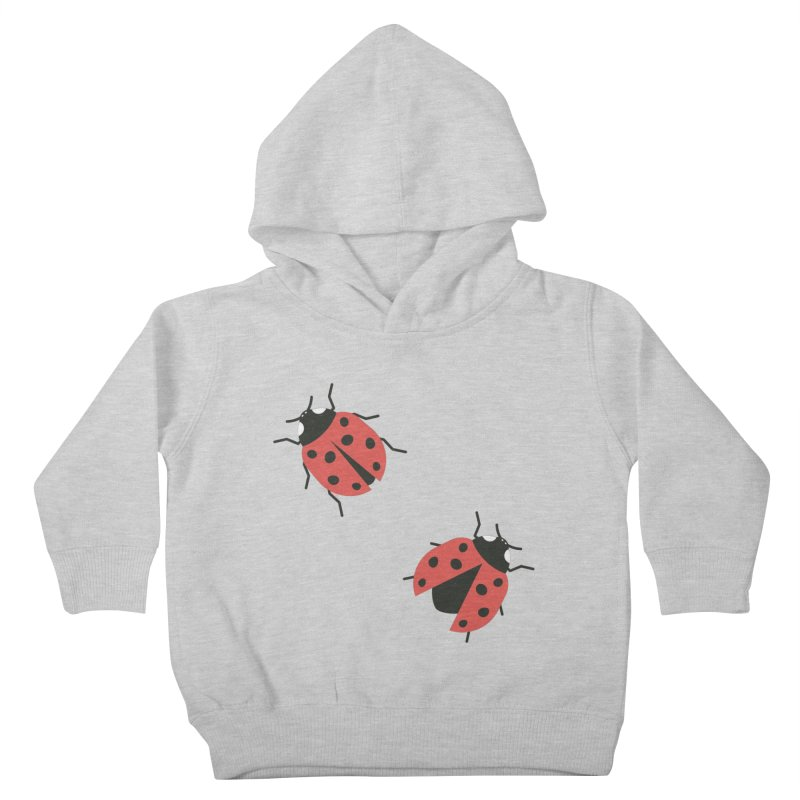 Ladybug Pattern Kids Toddler Pullover Hoody by abstractocreate's Artist Shop