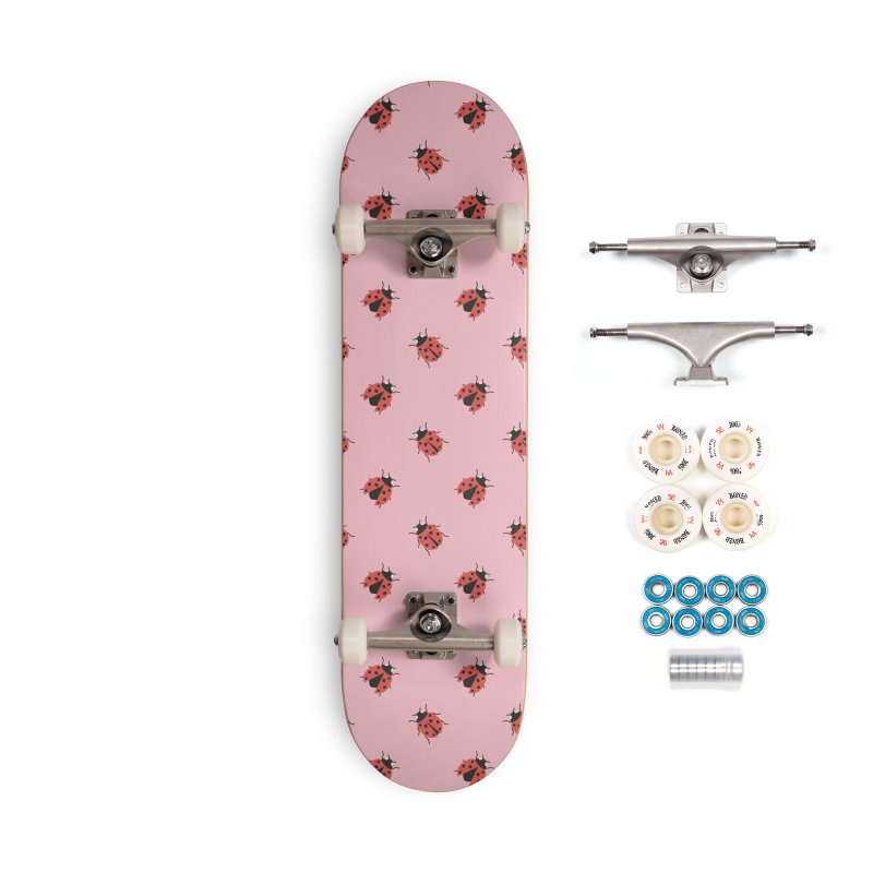 Ladybug Pattern Accessories Complete - Premium Skateboard by abstractocreate's Artist Shop