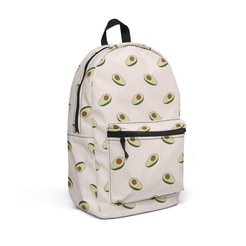 Avocado Pattern Accessories Backpack Bag by abstractocreate's Artist Shop
