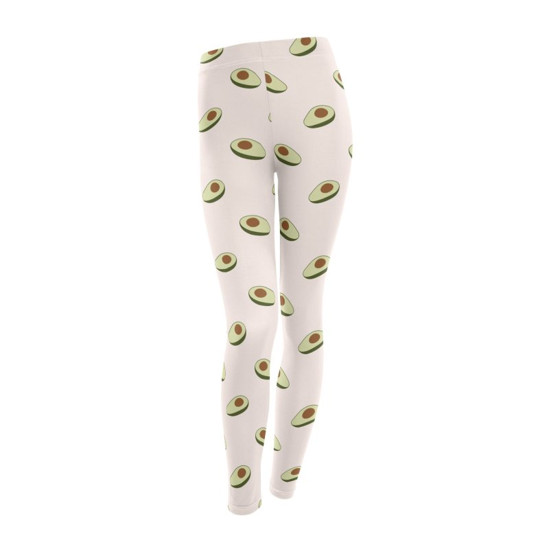 Avocado Pattern Women's Leggings Bottoms by abstractocreate's Artist Shop