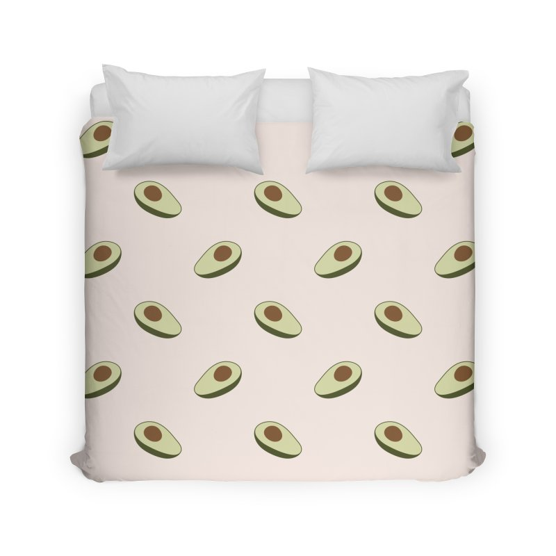 Avocado Pattern Home Duvet by abstractocreate's Artist Shop