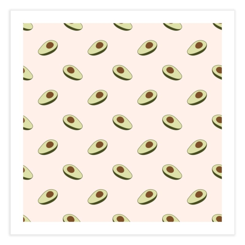 Avocado Pattern Home Fine Art Print by abstractocreate's Artist Shop