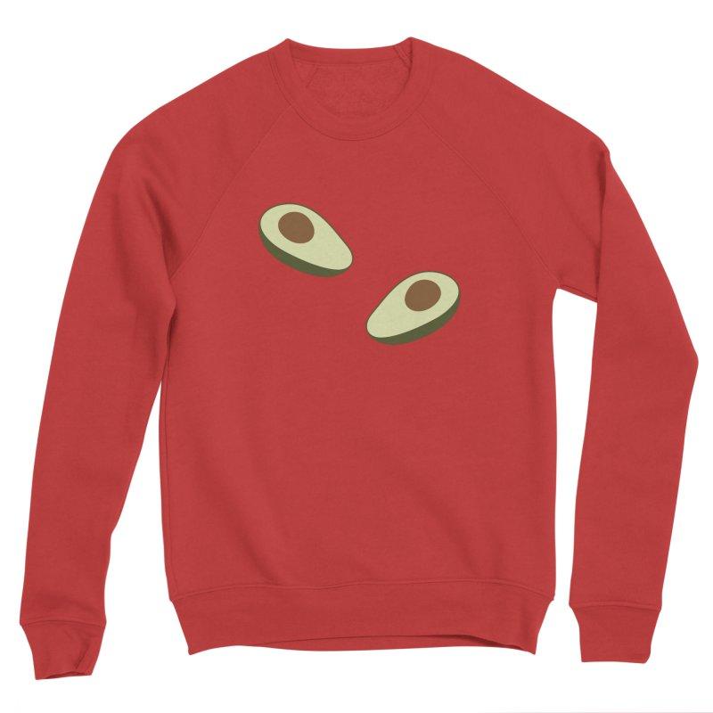 Avocado Pattern Men's Sponge Fleece Sweatshirt by abstractocreate's Artist Shop