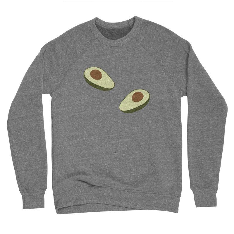 Avocado Pattern Women's Sponge Fleece Sweatshirt by abstractocreate's Artist Shop