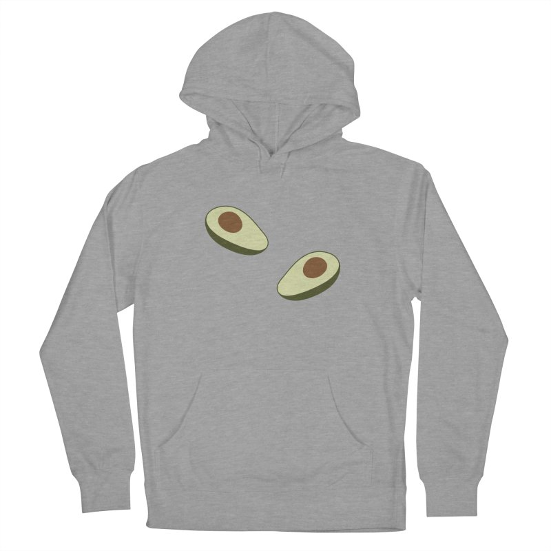 Avocado Pattern Men's French Terry Pullover Hoody by abstractocreate's Artist Shop
