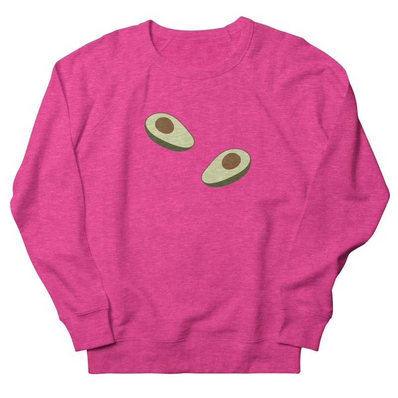 Avocado Pattern Women's French Terry Sweatshirt by abstractocreate's Artist Shop