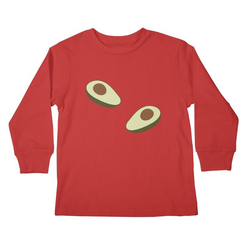 Avocado Pattern Kids Longsleeve T-Shirt by abstractocreate's Artist Shop