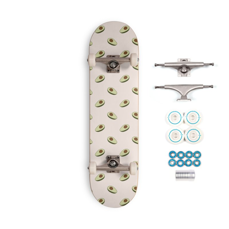 Avocado Pattern Accessories Complete - Basic Skateboard by abstractocreate's Artist Shop