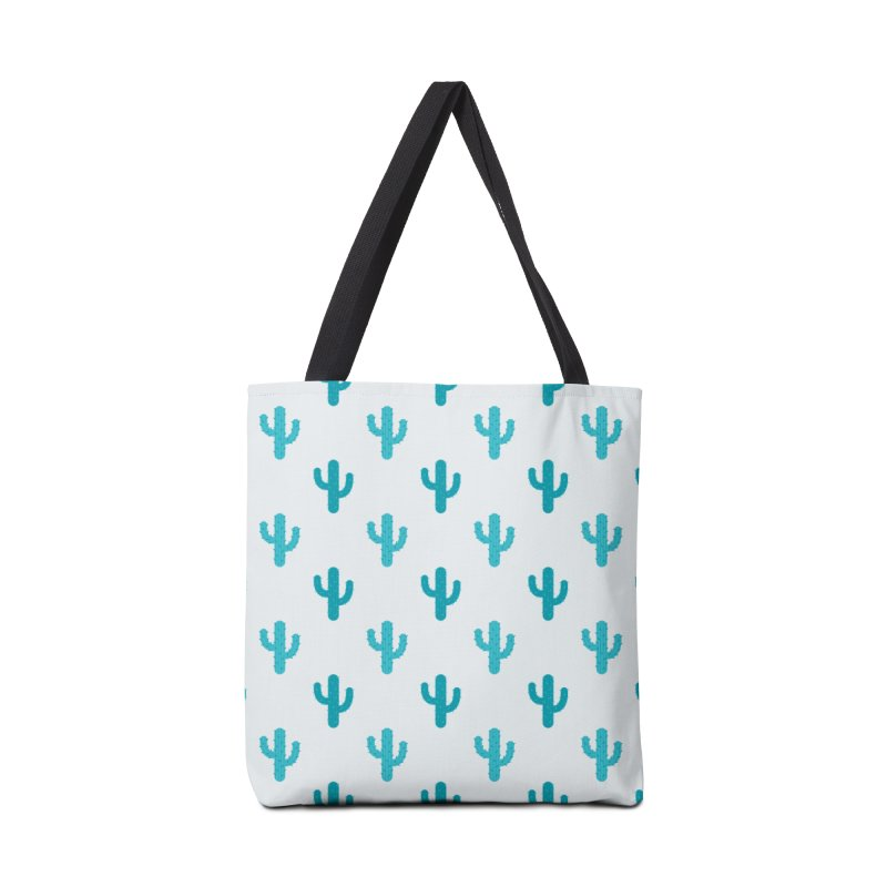 Cactuses Pattern Accessories Tote Bag Bag by abstractocreate's Artist Shop