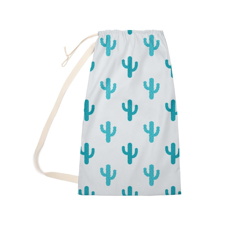 Cactuses Pattern Accessories Laundry Bag Bag by abstractocreate's Artist Shop
