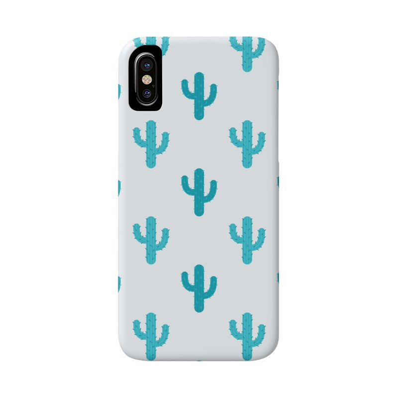 Cactuses Pattern Accessories Phone Case by abstractocreate's Artist Shop
