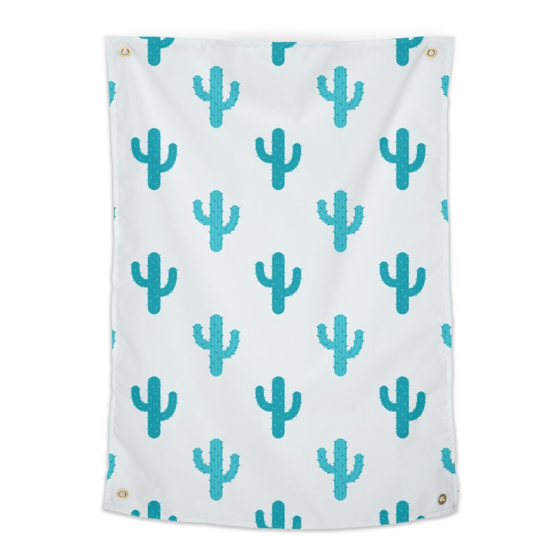 Cactuses Pattern Home Tapestry by abstractocreate's Artist Shop