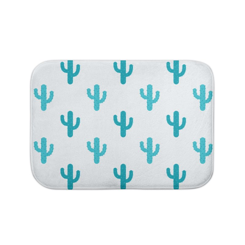 Cactuses Pattern Home Bath Mat by abstractocreate's Artist Shop