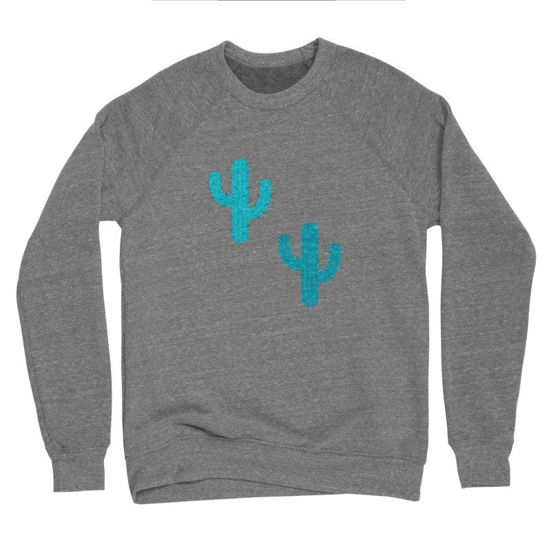 Cactuses Pattern Women's Sponge Fleece Sweatshirt by abstractocreate's Artist Shop
