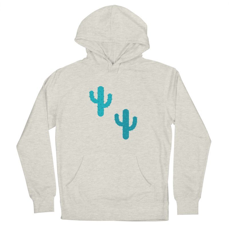 Cactuses Pattern Women's French Terry Pullover Hoody by abstractocreate's Artist Shop