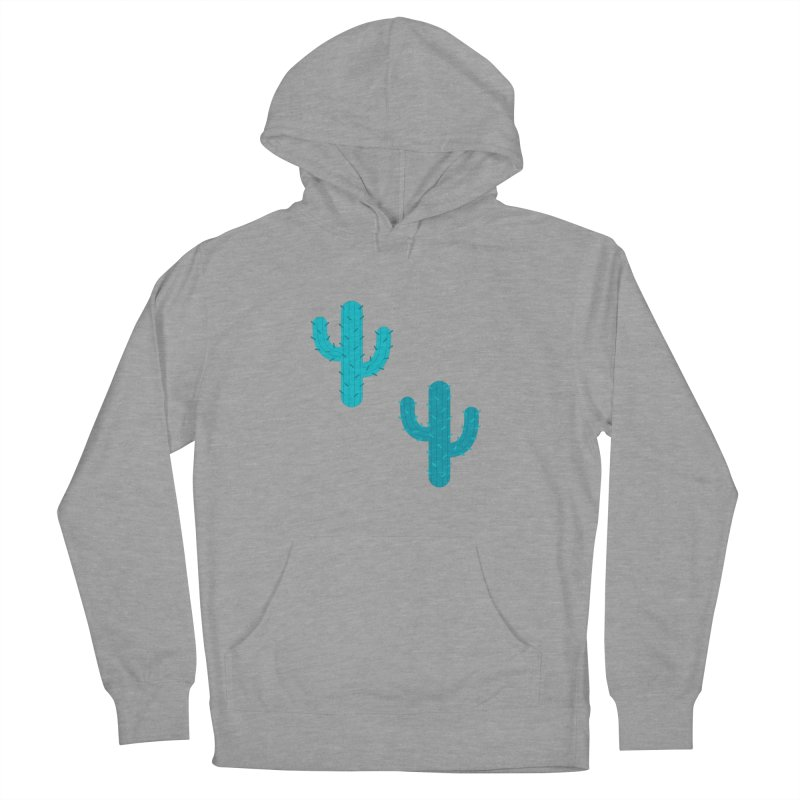 Cactuses Pattern Men's French Terry Pullover Hoody by abstractocreate's Artist Shop