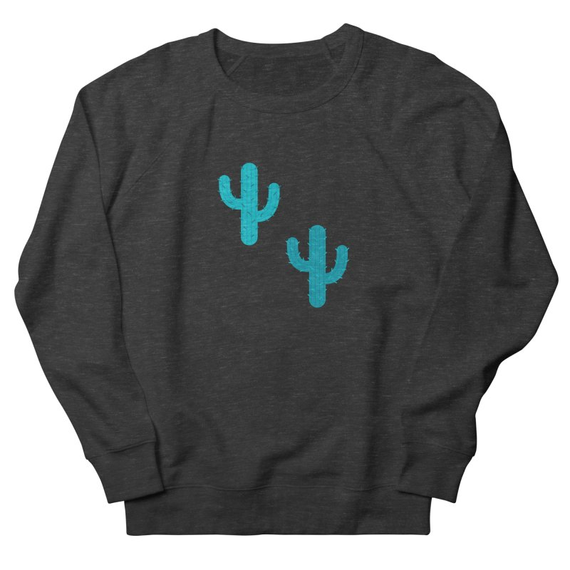 Cactuses Pattern Women's French Terry Sweatshirt by abstractocreate's Artist Shop