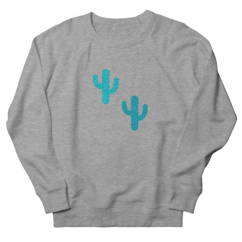 Cactuses Pattern Men's French Terry Sweatshirt by abstractocreate's Artist Shop