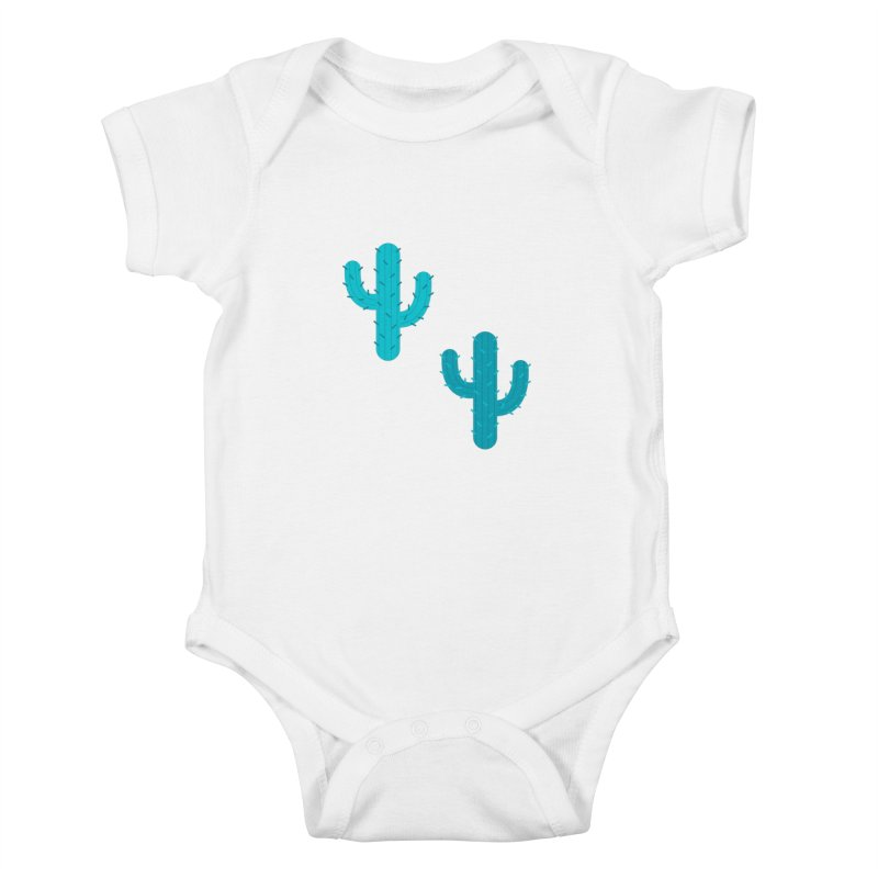 Cactuses Pattern Kids Baby Bodysuit by abstractocreate's Artist Shop