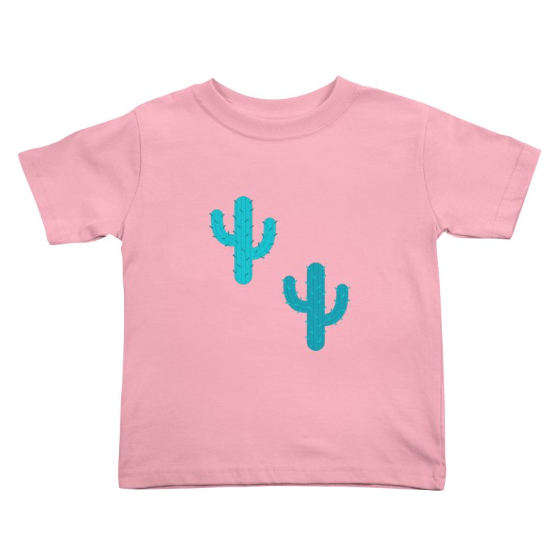 Cactuses Pattern Kids Toddler T-Shirt by abstractocreate's Artist Shop