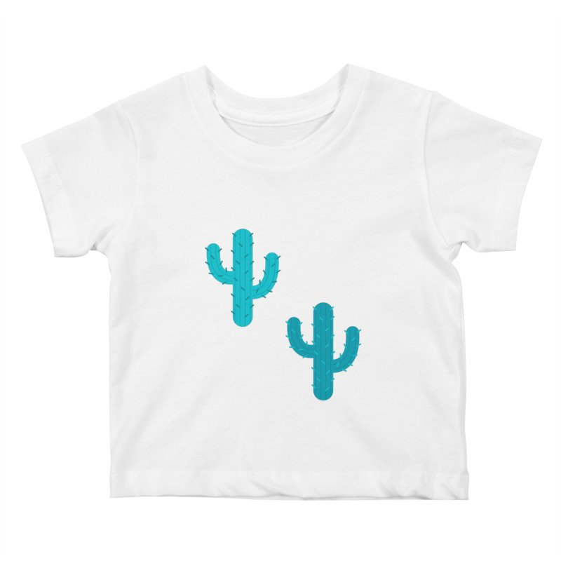 Cactuses Pattern Kids Baby T-Shirt by abstractocreate's Artist Shop
