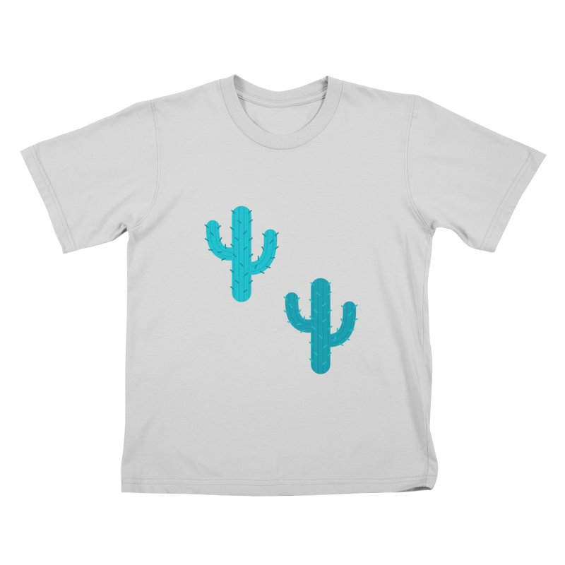 Cactuses Pattern Kids T-Shirt by abstractocreate's Artist Shop