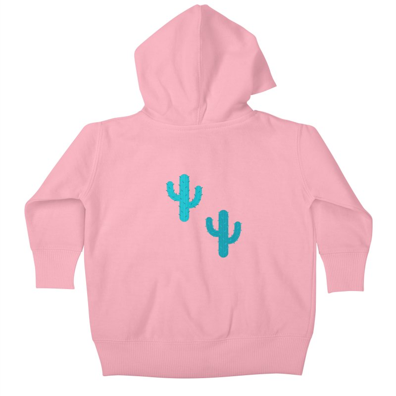 Cactuses Pattern Kids Baby Zip-Up Hoody by abstractocreate's Artist Shop