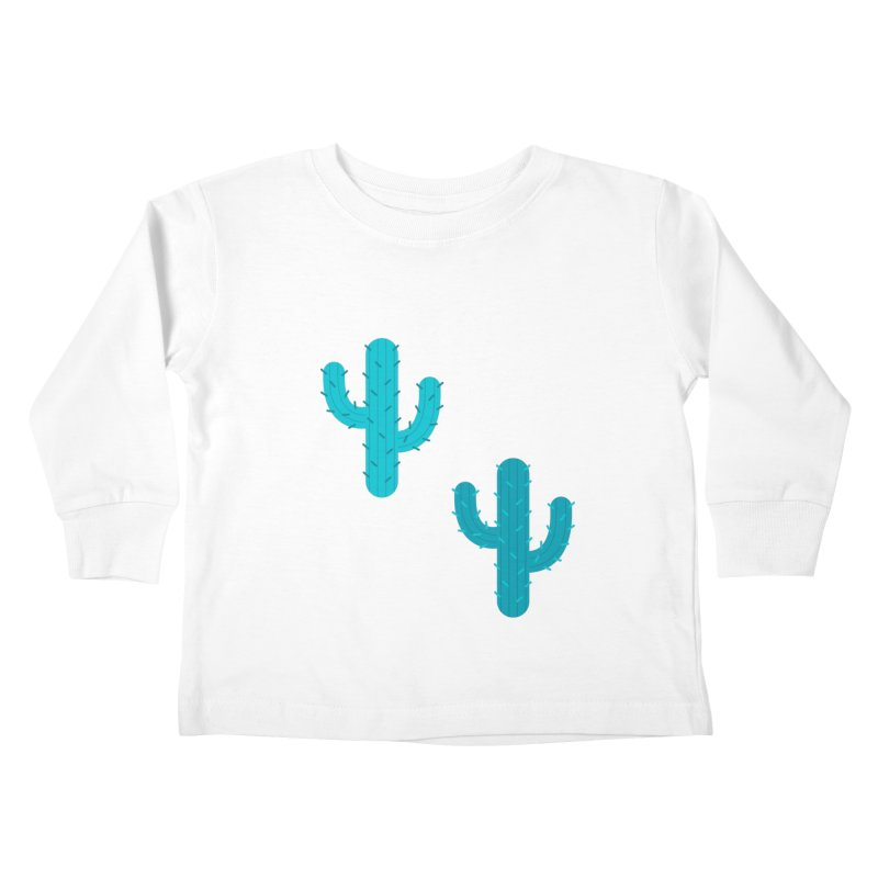 Cactuses Pattern Kids Toddler Longsleeve T-Shirt by abstractocreate's Artist Shop