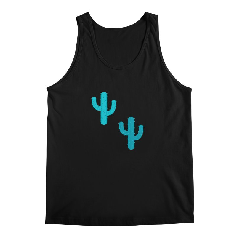 Cactuses Pattern Men's Regular Tank by abstractocreate's Artist Shop